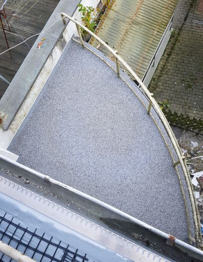 SteinDesign Balkonsanierung - Natursteinteppich
