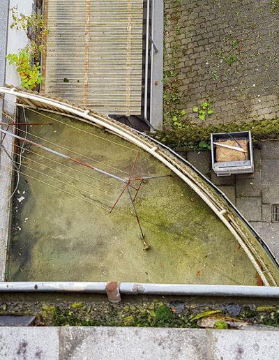 SteinDesign Balkonsanierung Vorher