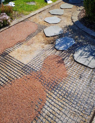 SteinDesign Terrassensanierung - Granulat