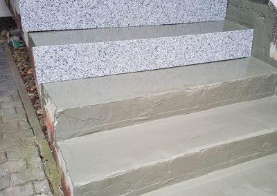 SteinDesign Treppensanierung mit Natursteingranulat