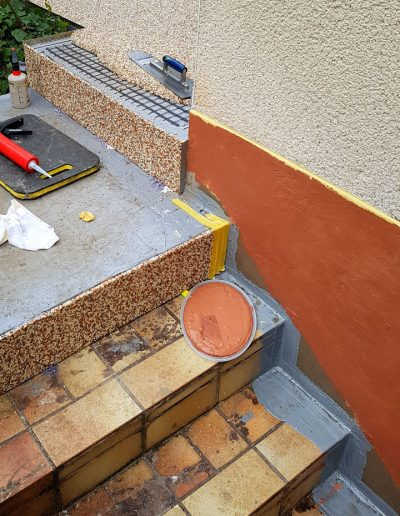 SteinDesign Treppensanierung Schritt 2